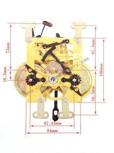 CH Clock Movement 160006