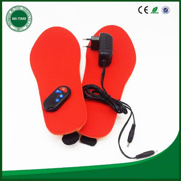 thermical heat insoles battery electric