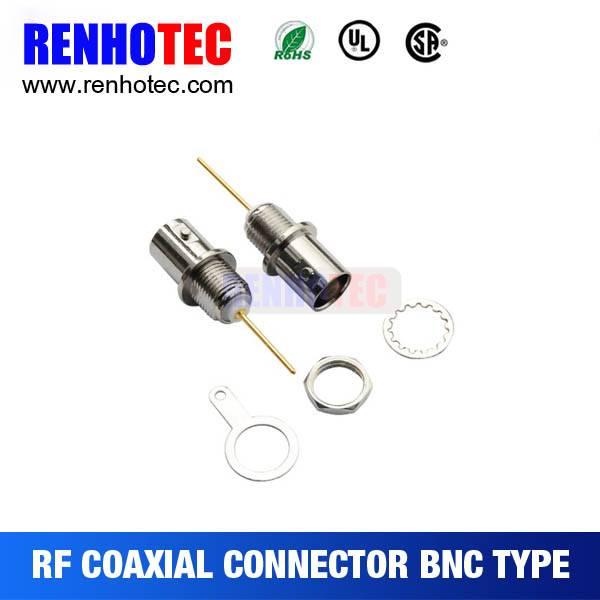 180 Degree long pin BNC connector