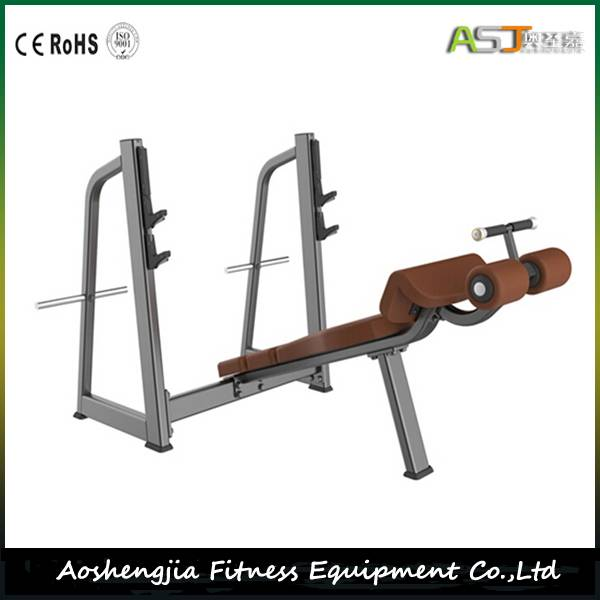Olympic Decline Bench Gym Fitness Equipment