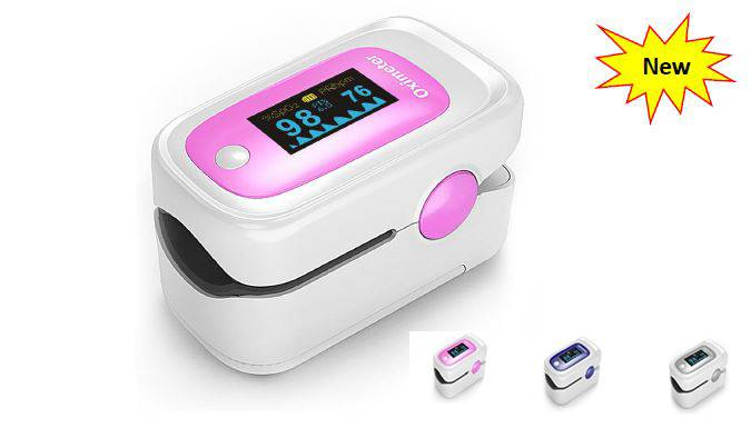 New Colorful Mold Fingertip Pulse Oximeter with OLED Screen