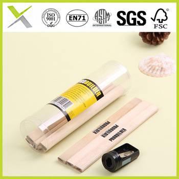 Oval/ octagonal carpenter pencils with sharpener