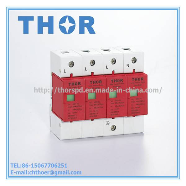 TRS-B60 Uc385V Surge Arrester for Equipment Protection
