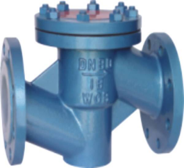 Lift Pattern Fluorine Plastic Lined Check Valve