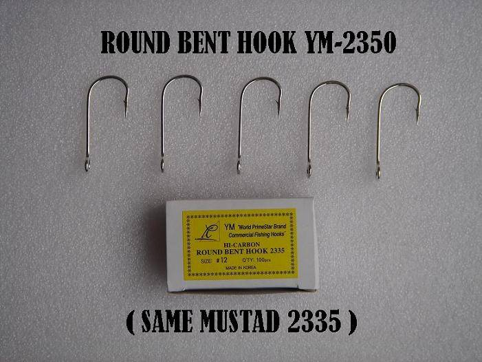 Commercial fish hook - Round bent sea hook(YM-2350)