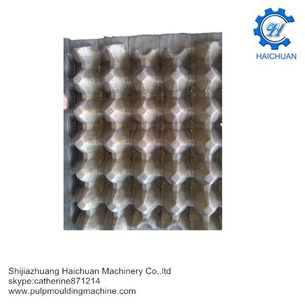 customer paper pulp egg trays molds