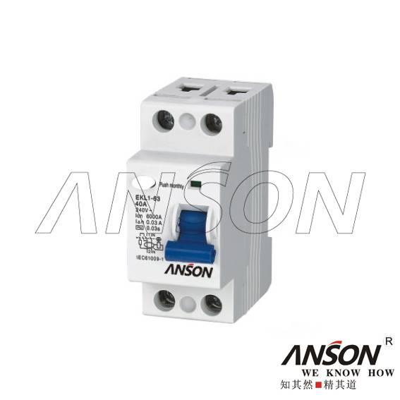 EKL1-63 Residual Current Circuit Breaker(RCCB)