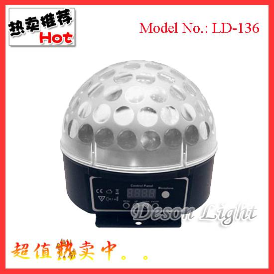 new LED Crystal Magic Ball (9W)  LD-136A