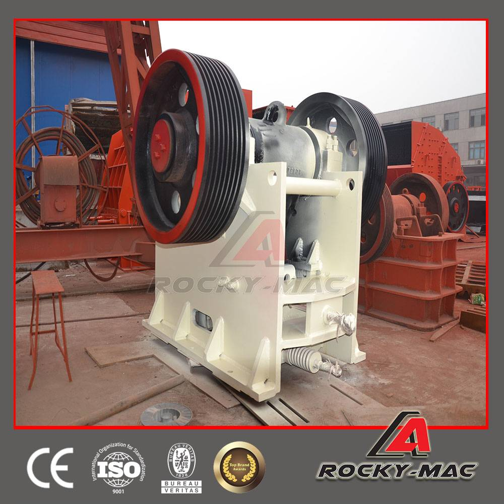 Rocky-mac PE600x900 High Quality Jaw Crusher Plant