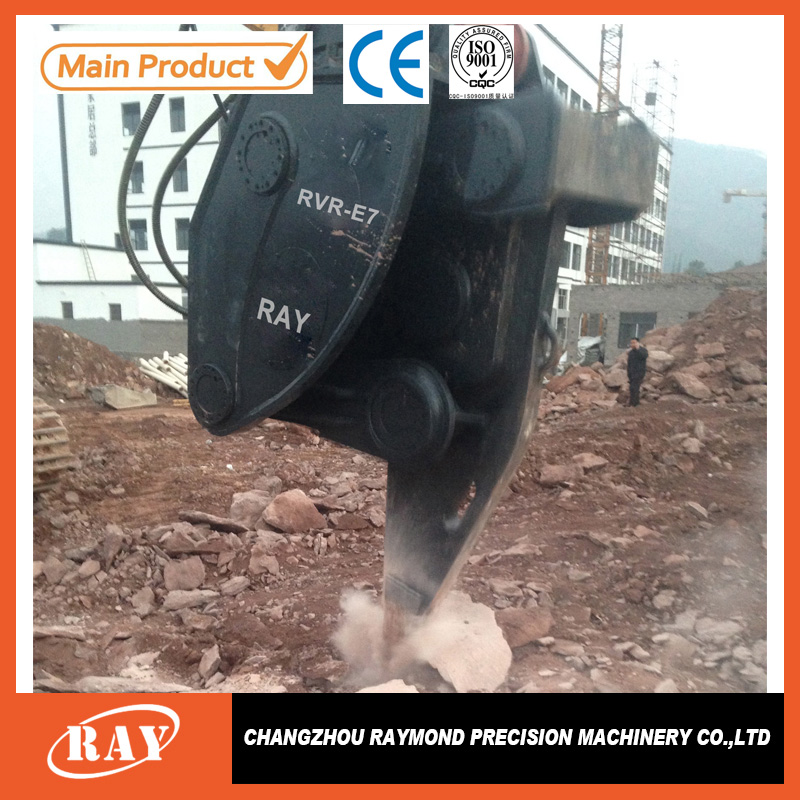 Hydraulic mini rock hammer vibrating ripper for excavator