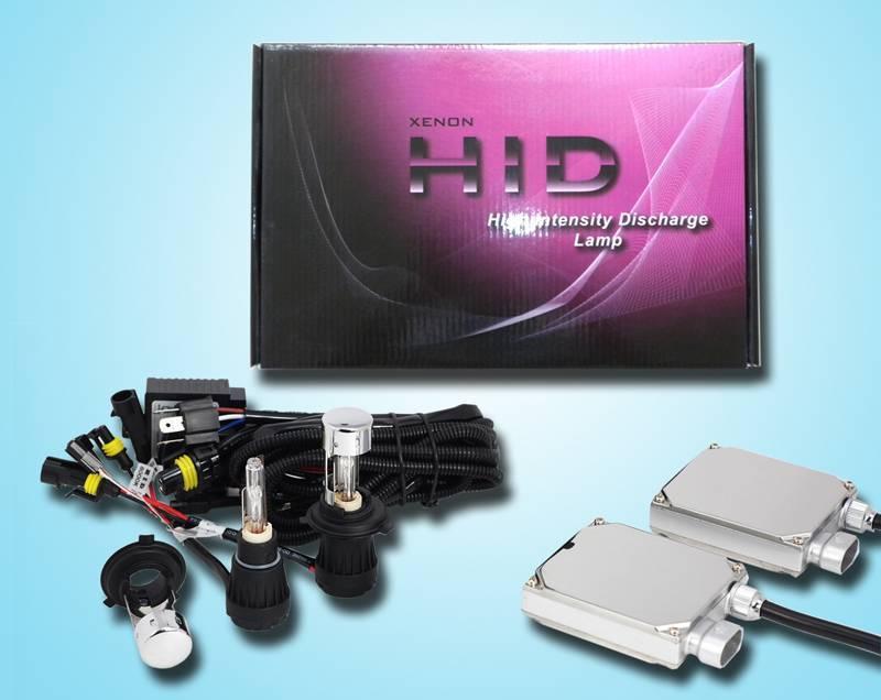 H4H/L Slim Ballast Flexible HID Kits