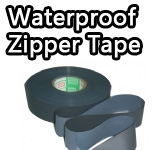 Waterproof zipper tape
