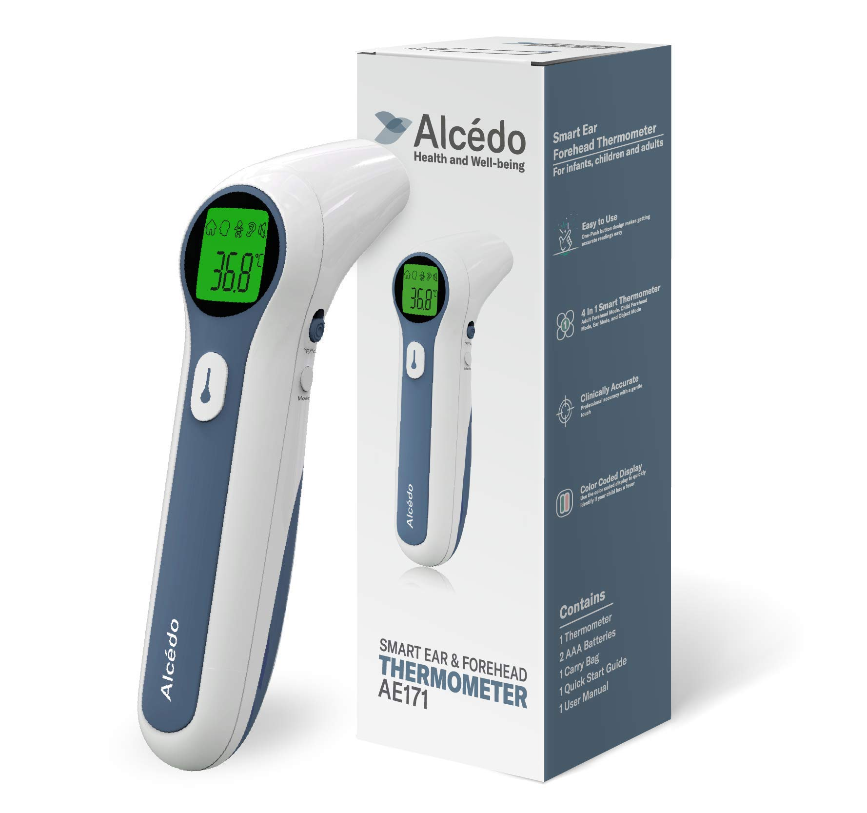 Non-contact Infared Ear/Forehead Thermometer