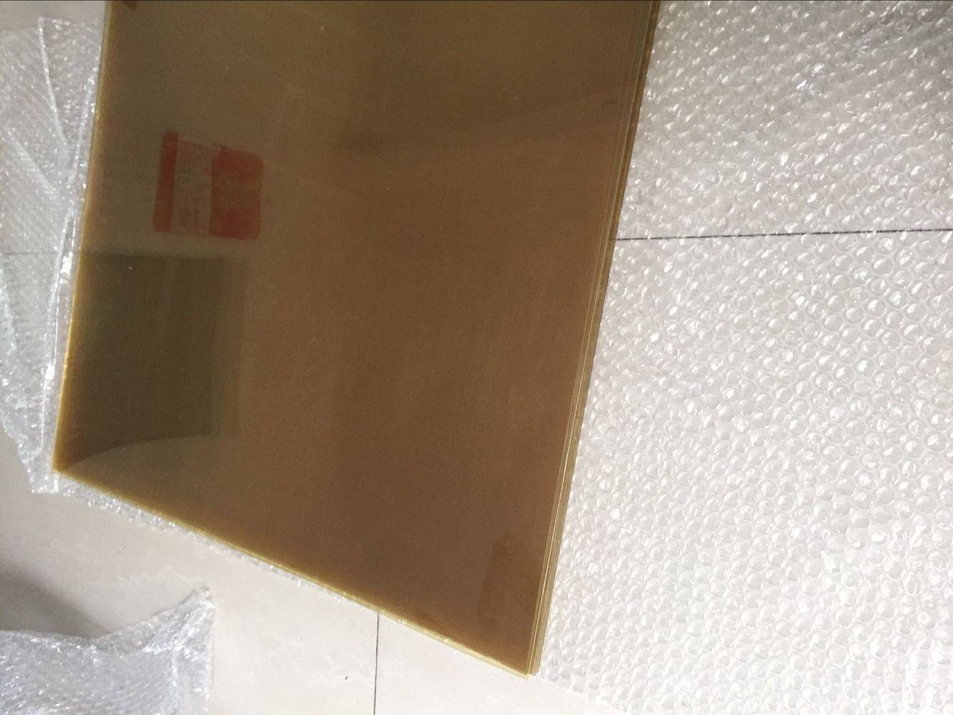 500x500mm PEI sheet 2mm thickness with protective films