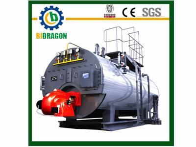Horizontal Thermal Fluid Heater