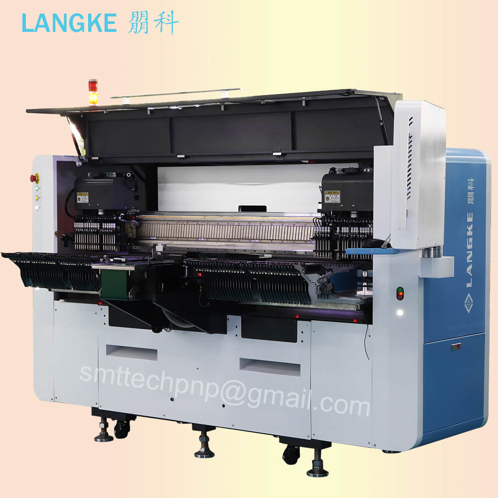 SMD online led chip mounter placement machine