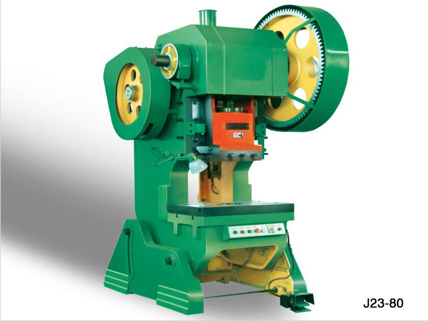 J23-80T Punching machine for stamping and cutting hole