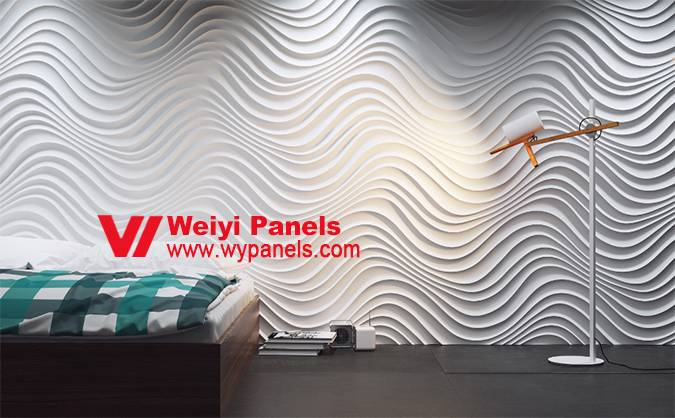 Decorative MDF Wave Boards-3D Wall Panels WY-212