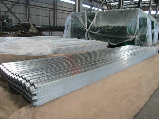 galvanized steel tile