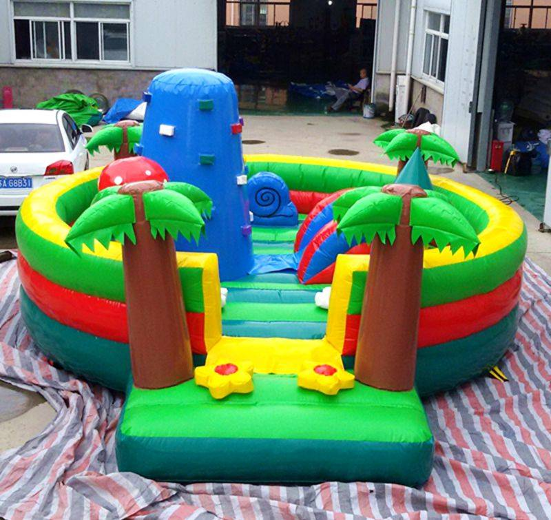 Lanqu Garden inflatable bouncer house