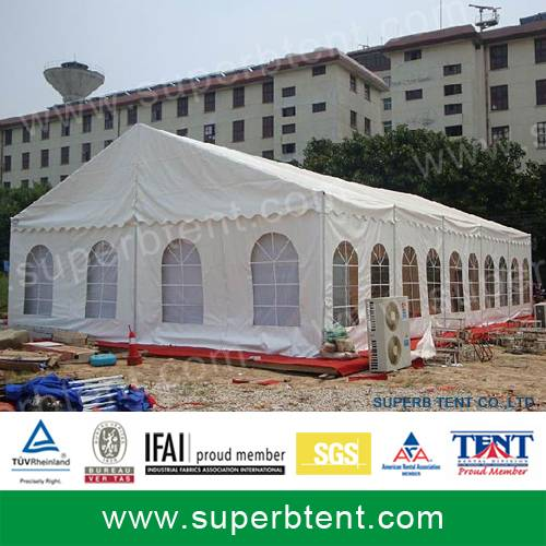 Promotional aluminum frame commercial display tent