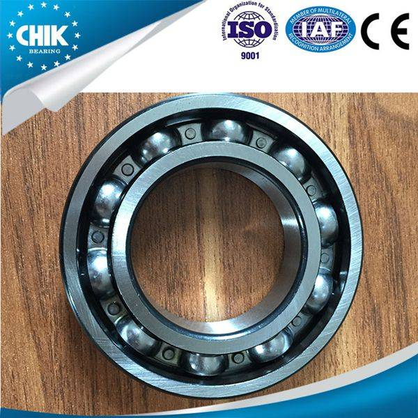 Chrome steel High precision deep groove ball bearings Open ZZ RS 2Z 2RS