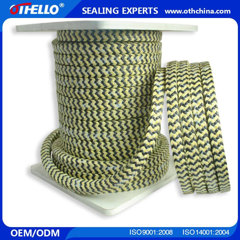 aramid with PTFE gland packing
