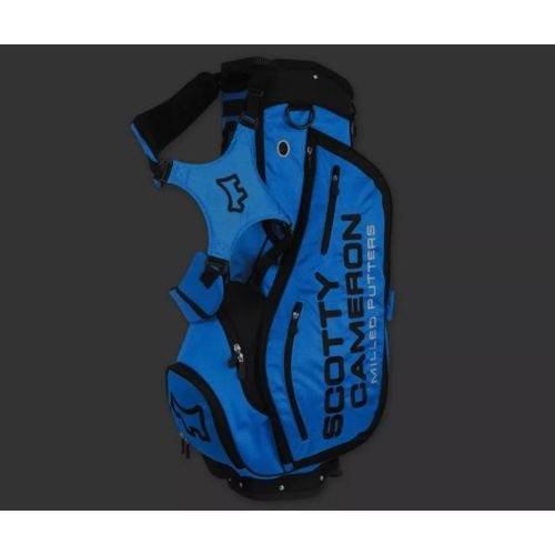 Scotty Cameron Turbo Blue Stand Bag - 2016 Hula