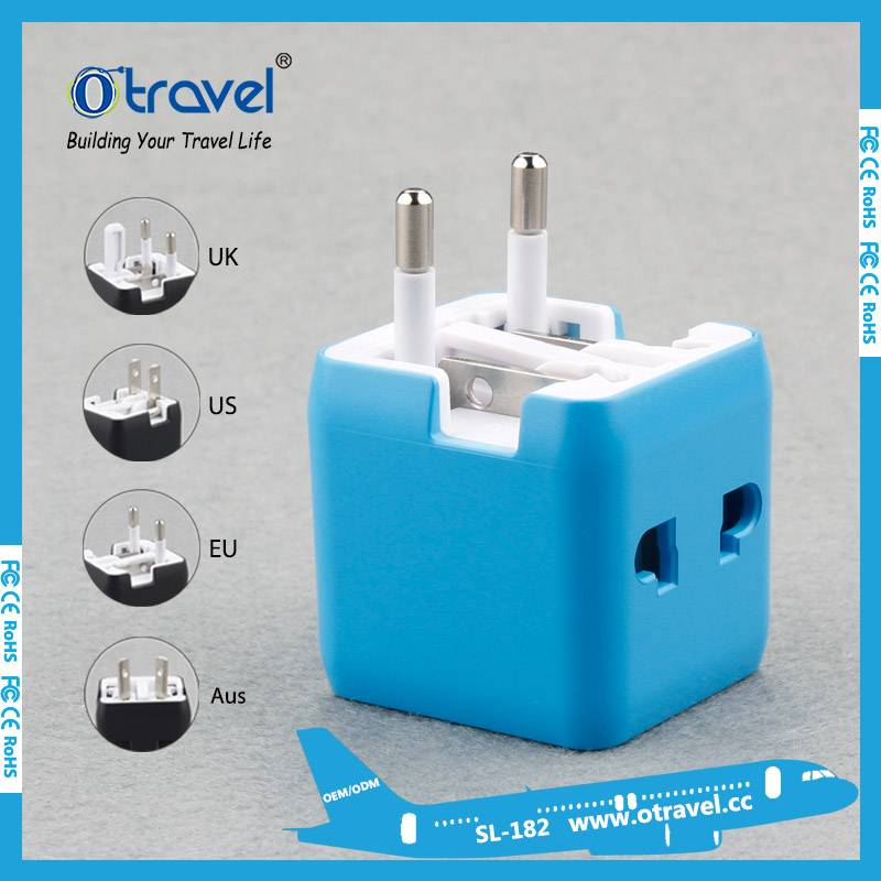 Otravel mini size worldwide travel adaptor without USB