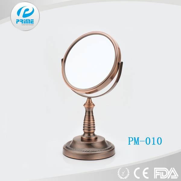Prime Magnifying antique desk mirror