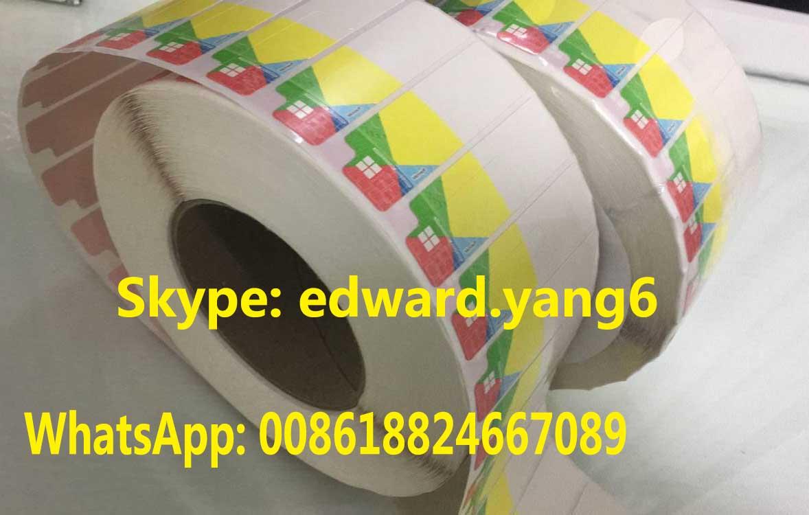 Factory Coa Sticker of Win 10 Pro OEM Key Code COA Sticker Label