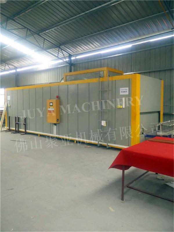 wood grain heat vacuum transfer printing machine