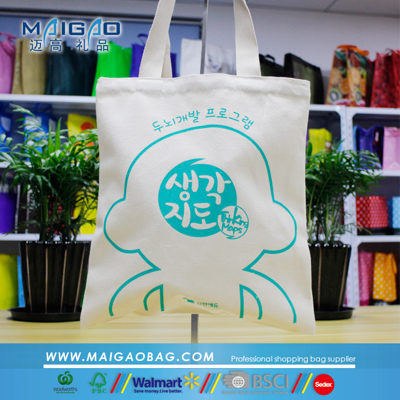 Wholesale cotton canvas tote bag