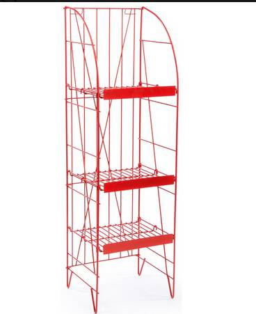 Beverage Rack with Adjustable Shelves