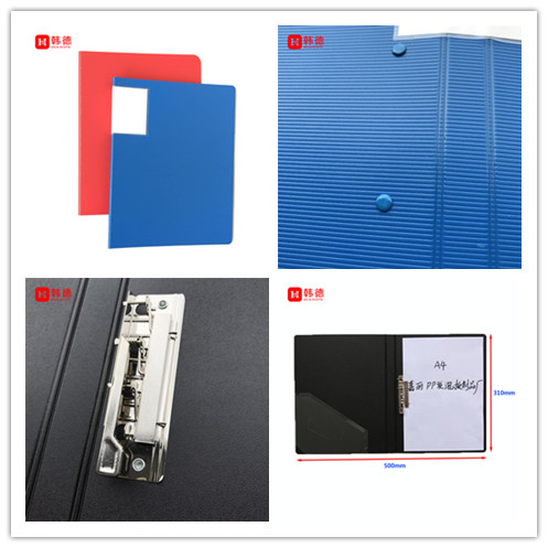 best price high quality business cardboard Eco friendly PP foam file folder a4 clamp file