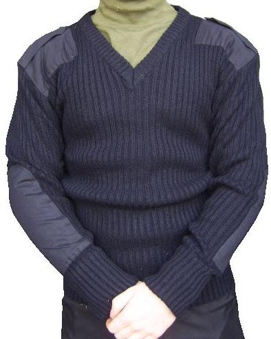 Woolly Pully V Neck Sweater