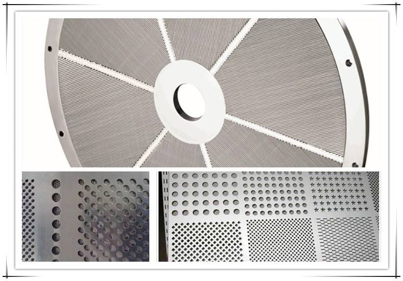 Screen Plate for Pulp Machine (perforated plate)