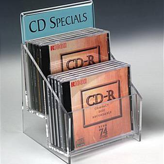 CD acrylic display stand