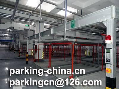 Underground parking system 2 levels