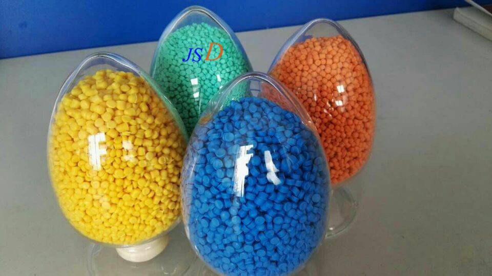 China factory price TPE modified pellets as cable jacket raw material that is used for Electric vehi