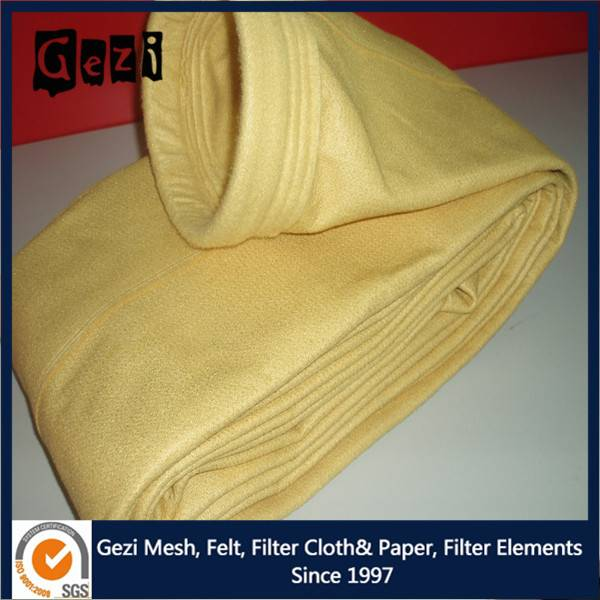 Gezi P84 dust bag filtration media