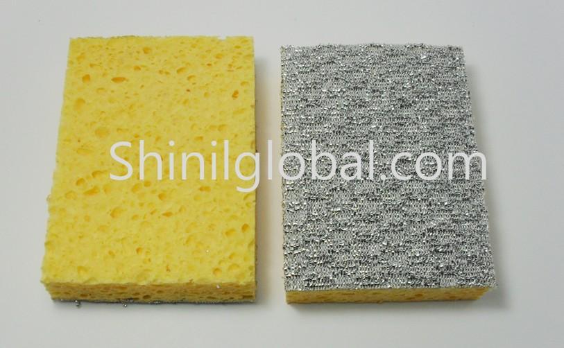 Cellulose Scouring pad Sponge 2