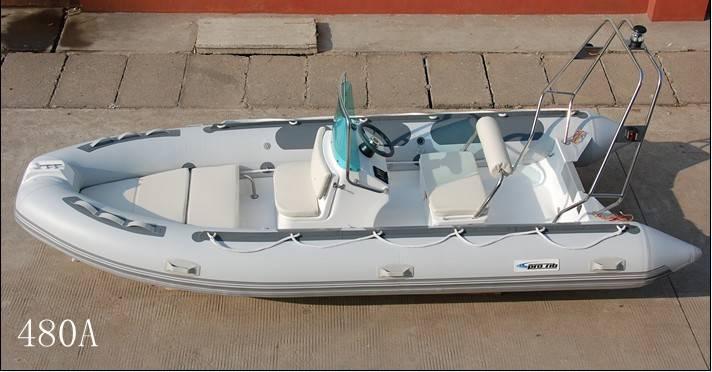 16 feet rigid inflatable boat RIB480 yacht tender