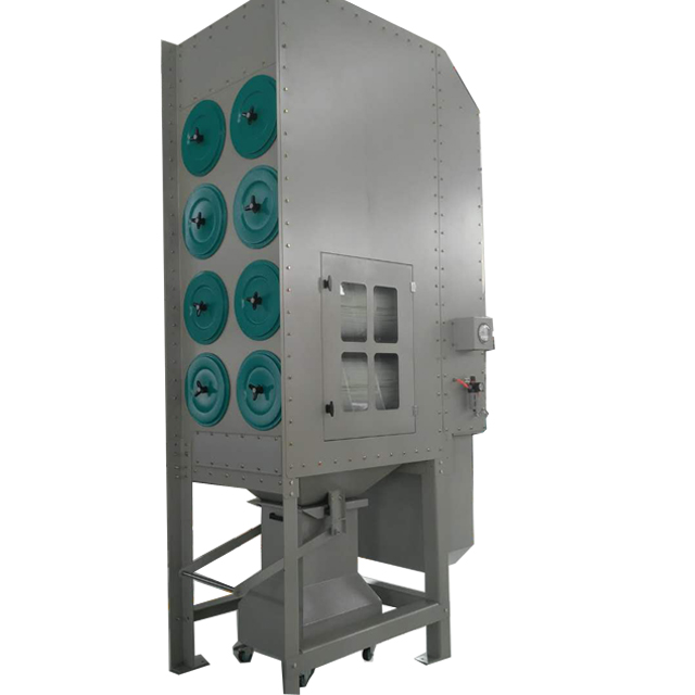 Large industrial dust collector plasma filler fume extractor