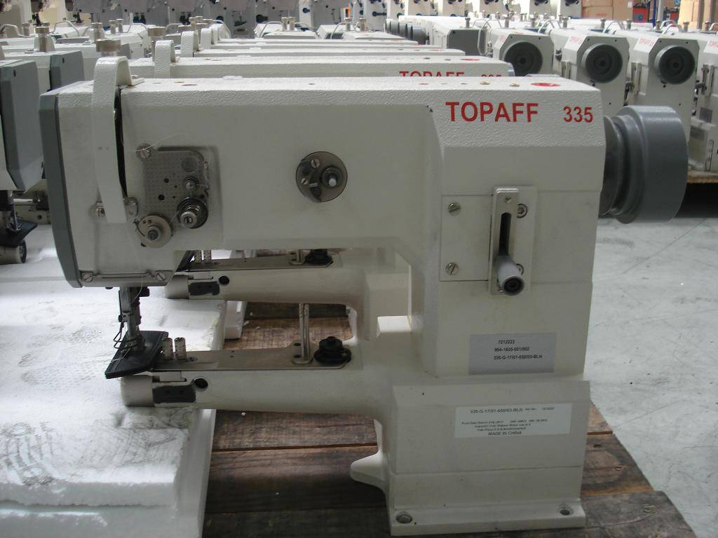 TOPAFF 335-G-6/01 cylinder bed single needle sewing machine