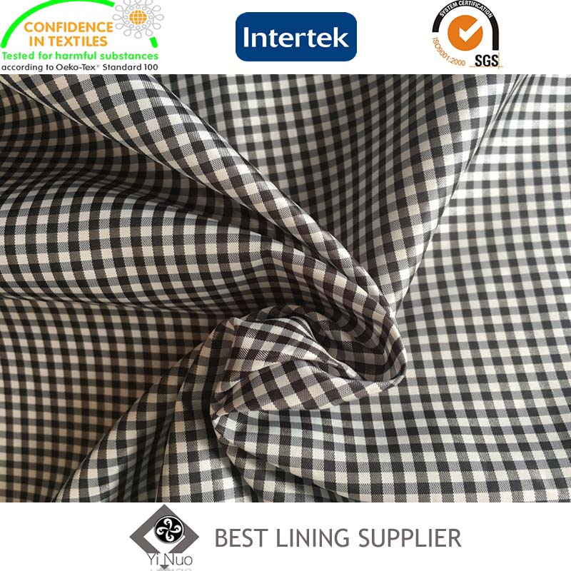 Mens Winter Jacket Coat Lining Classic Check Lining