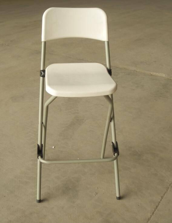 Plastic Folding Bar Chair (YCD-52)