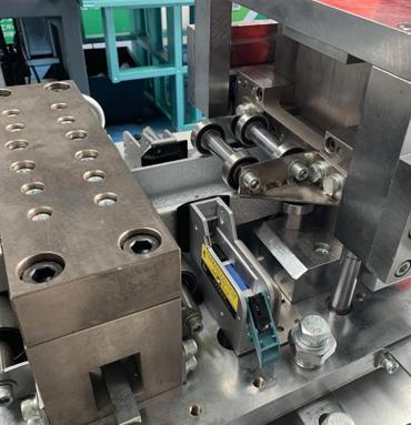 ROLLING SHUTTER SLATS ROLL FORMING MACHINE