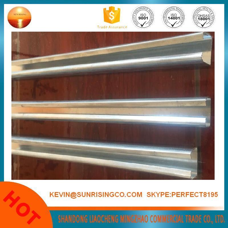 U C light weight hot dipped galvanized steel profile