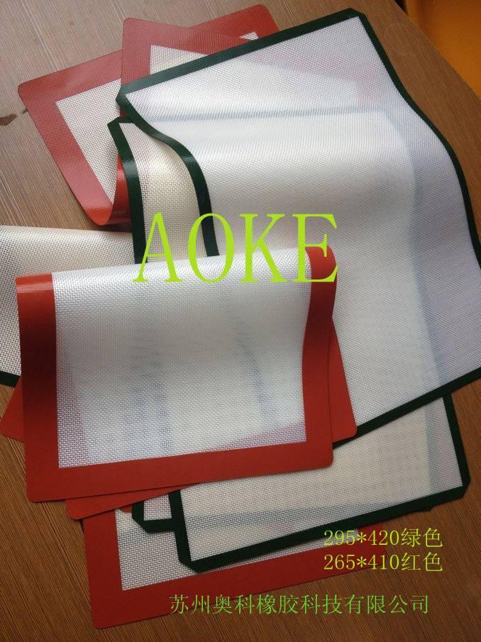 Silicone fiberglass non-stick cloth